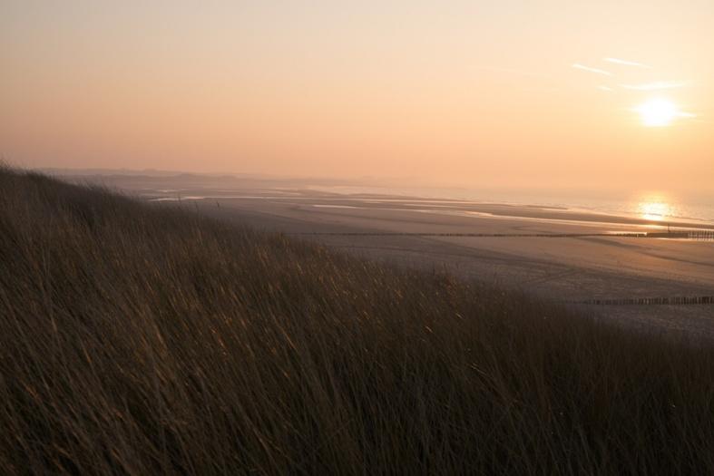 View from the Cadzand-Bad dunes